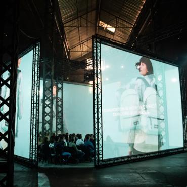 A 360ø centre piece live in Lisbon