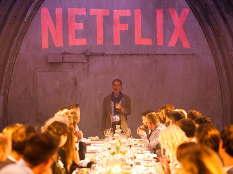 Netflix. Spills, Thrills & TV Chills